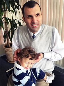 Chiropractor Stratford CT Edward Corsello With Eddy